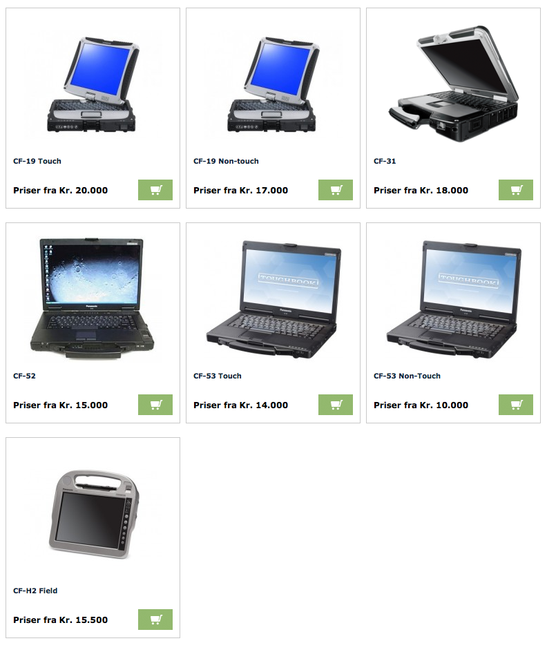 Panasonic Toughbooks